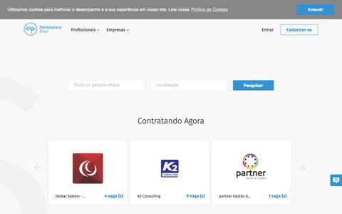 Screenshot of Home Page erpmarketplace.com - ERP Marketplace - captured Sept. 26, 2018