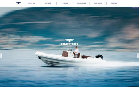 Screenshot of Home Page hunton.co.uk - Hunton | Hunton - captured Feb. 2, 2016