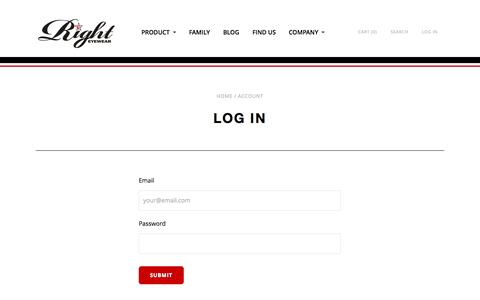 Account | Right Eyewear - Sunglasses and Apparel