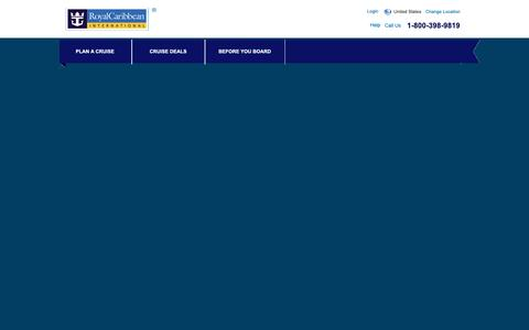Screenshot of Contact Page royalcaribbean.com - Royal Caribbean Contact Information -    Royal Caribbean International - captured Oct. 24, 2018