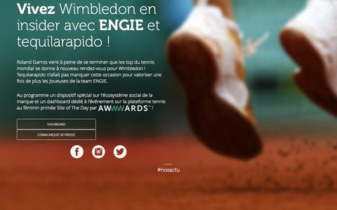 Screenshot of Press Page tequilarapido.com - tequilarapido. - captured Aug. 15, 2015