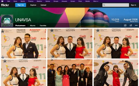 Screenshot of Flickr Page flickr.com - Flickr: UNAVSA's Photostream - captured Oct. 27, 2014