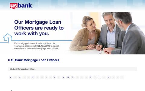 Find A Mortgage Lender Near You | U.S. Bank