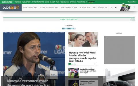 Futbol Nacional                                          Publimetro México