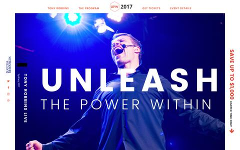 Unleash the Power Within 2017