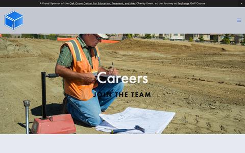Screenshot of Jobs Page lgcgeoenv.com - Logical Geotechnical ConsultantsEngineering Geologist CAD Jobs - captured Jan. 23, 2016