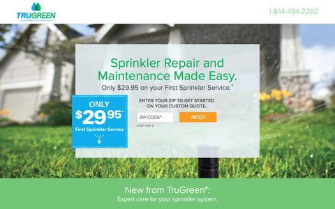 TruGreen | Sprinkler Repair & Maintenace