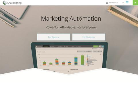 Simple, Easy, Affordable Marketing Automation | SharpSpring