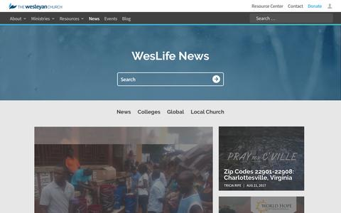 News | The Wesleyan Church