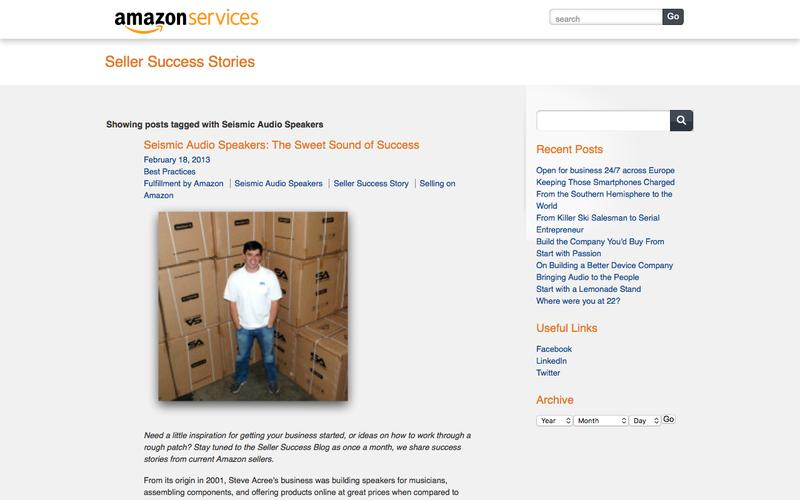 Amazon Services Seller Success Blog