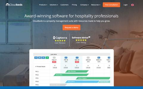 Cloudbeds - All-in-one Hotel Management Software - Cloudbeds