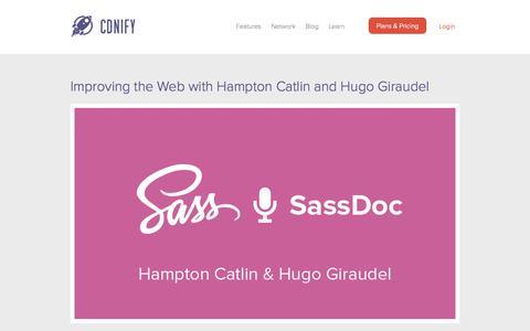 Screenshot of Blog cdnify.com - CDNify | Content Delivery Network - captured Sept. 23, 2014