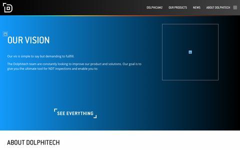 Screenshot of Team Page dolphitech.com - About Dolphitech - Dolphitech - captured Nov. 6, 2018