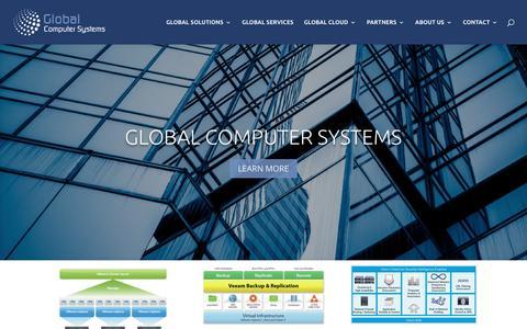 Screenshot of Home Page global-usa.com - Home | Global Computer Systems - captured Sept. 28, 2018