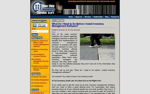 Screenshot of Blog count-it.com - Blog   - captured Oct. 5, 2014