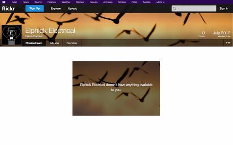 Screenshot of Flickr Page flickr.com - Welcome to Flickr! - captured Oct. 22, 2014