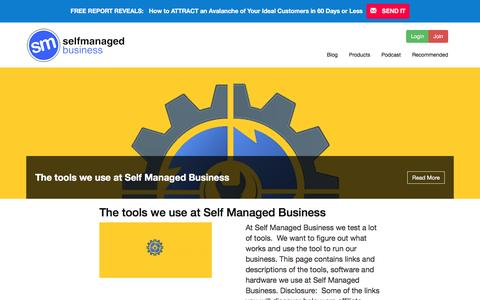 Screenshot of Blog selfmanagedbusiness.com - Blog - Digital Marketing | Self Managed Business with Anthony Manly - captured May 28, 2017