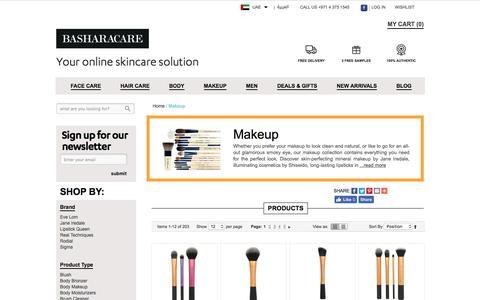 Best Makeup Brands Dubai Abu Dhabi UAE