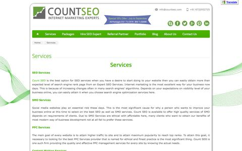 Services | Count SEO