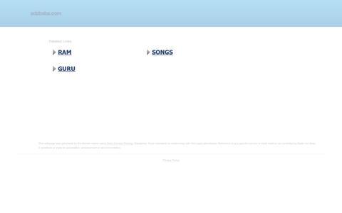 Screenshot of Home Page adzbaba.com - adzbaba.com-adzbaba Resources and Information. - captured Nov. 13, 2018