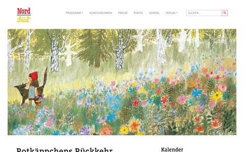 Screenshot of Blog nord-sued.com - Blog • NordSüd Verlag - captured Dec. 21, 2018