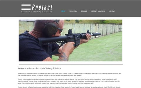 Screenshot of Home Page protect-nz.com - protect-nz - captured Feb. 2, 2016