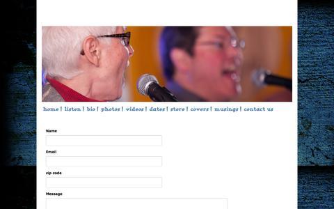 Screenshot of Contact Page soulpajamas.com - Soulpajamas - contact us - captured March 11, 2016