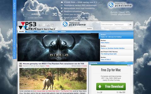 Screenshot of Press Page ps3life.nl - PS3Life - Dé Nederlandse PlayStation 3, PlayStation 4, PSP & PS Vita Community • Nieuws: Media - captured Sept. 22, 2014