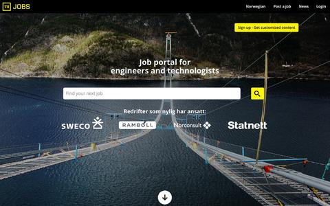 Screenshot of Team Page tujobs.com - Find a Job in the Oil, Gas and Subsea industry - Find Offshore or Oilfield jobs at Tujobs - captured Aug. 4, 2015