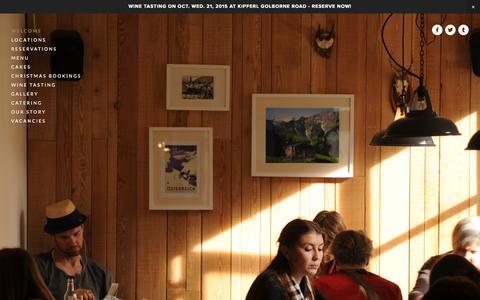 Screenshot of Home Page kipferl.co.uk - Kipferl - captured Oct. 10, 2015