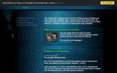 Screenshot of Home Page einfach-alles-online.com - Alles erleben bei einfach alles online - captured Oct. 30, 2018