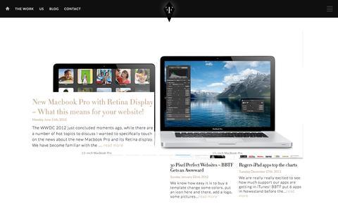 Screenshot of Blog builtbythefactory.com - Blog | Built by the Factory - captured Sept. 30, 2014