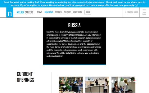 Russia | Nielsen Careers