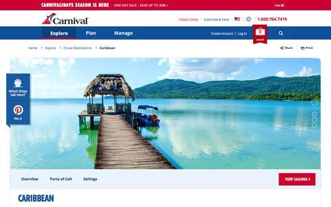 Caribbean Cruises   Caribbean Vacations   Carnival Cruise Line