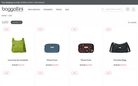 Women's Handbags on Sale | baggallini