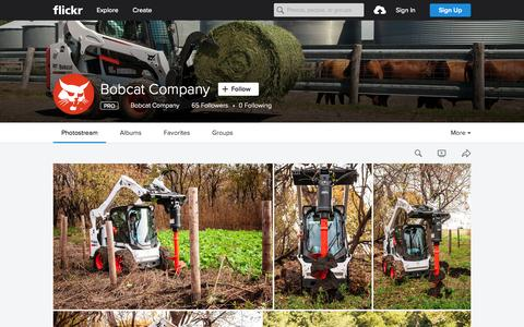 Screenshot of Flickr Page flickr.com - Bobcat Company | Flickr - Photo Sharing! - captured Oct. 2, 2015