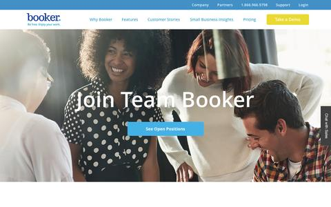 Job Listings | Booker Jobs