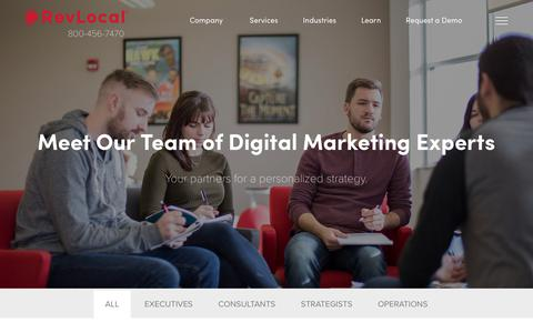 Digital Marketing Experts | RevLocal