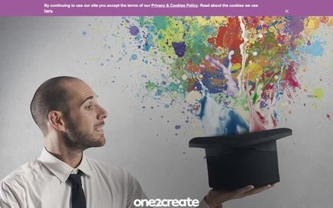 Screenshot of Home Page one2create.co.uk - Digital Marketing & Web Design Hampshire | One2create - captured Feb. 16, 2016