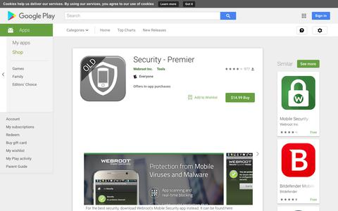 Security - Premier - Apps on Google Play