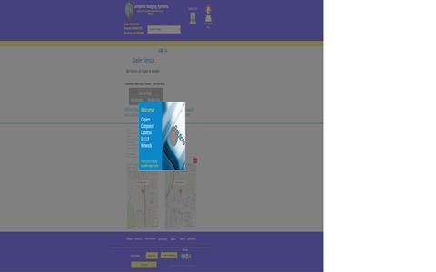 Screenshot of Home Page copierexperts.com - Copier Service - captured Jan. 30, 2016