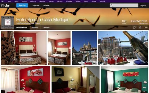 Screenshot of Flickr Page flickr.com - Flickr: Hotel Spa La Casa Mudejar, Segovia's Photostream - captured Oct. 22, 2014