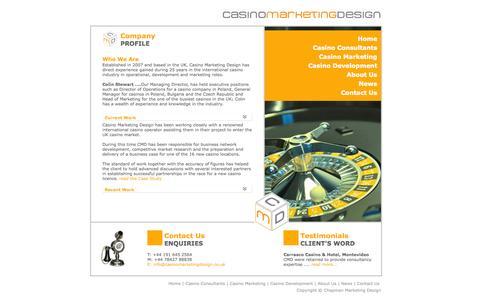Screenshot of About Page casinomarketingdesign.co.uk - Casino Marketing Design | About Us - captured Sept. 26, 2014