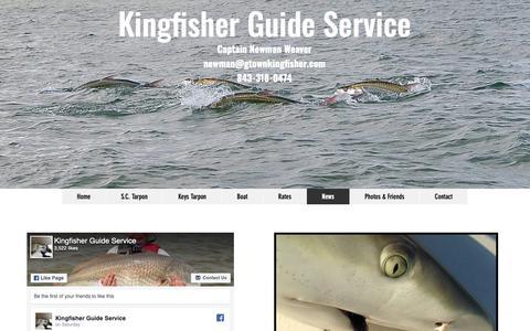Screenshot of Press Page gtownkingfisher.com - start-from-scratch | News - captured Nov. 15, 2018