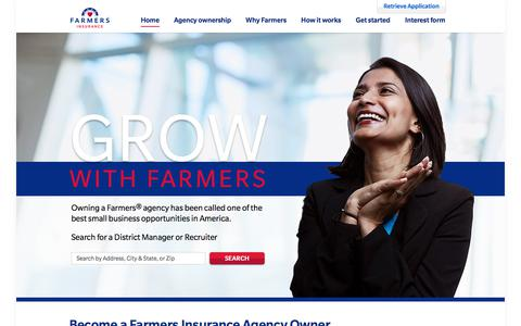 Become an Insurance Agent - Own an Insurance Agency | Farmers