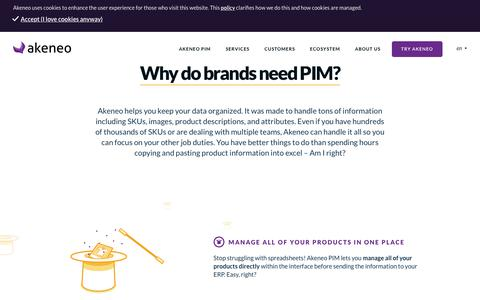 Why do brands need PIM? - Akeneo - The Open Source PIM