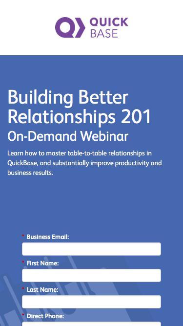 Building Better Relationships 201