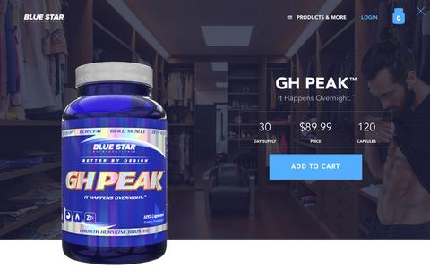 GH Peak | Blue Star Nutraceuticals