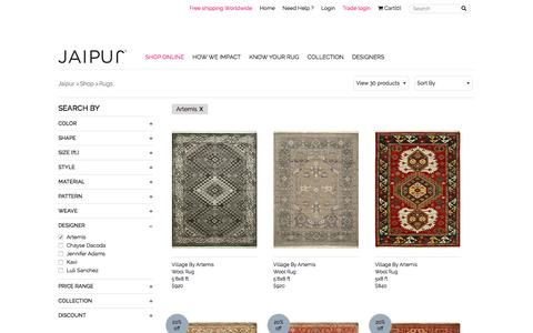 Buy Designer Handmade Area Rugs Carpets | Jaipur Rugs