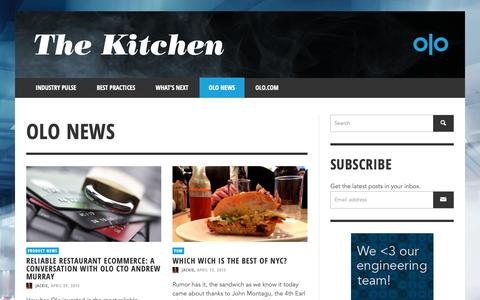 Screenshot of Press Page olo.com - Olo News | The Kitchen | Olo - Part 3 - captured Oct. 18, 2018